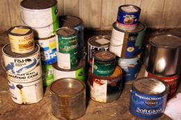 Most households in the UK will have between 7 and 17 tins of partially used paint. These dog end tins can sit around for years because we don't know how to get rid of them