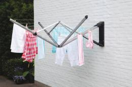 If you don't have a garden, Dutch brand Brabantia's WallFix driers allow for outside drying. From £79. brabantia.com