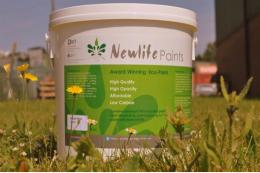 Recycled paint from Newlife Paints