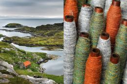 The colours of the island make the cloth