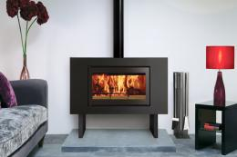 Stovax has modern as well as traditional fires, such as its Riva2 model, with up to 80 per cent efficiency.