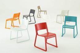 Theo chairs by Gabbertas Studio, Hungarian oak and beech