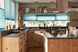 Duette blinds look good anywhere, from country kitchens....