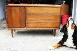 A sideboard  after years of minimal attention...