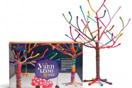 Craft-tastic Yarn Tree Kit, £24.99, on Amazon