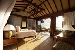 The house has Caribbean and Balinese influences