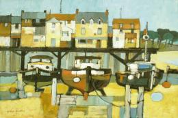 Moorings II by Moira Huntly