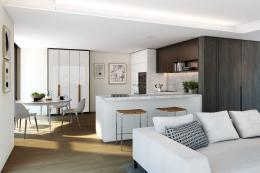 Kitchens in the one-bed apartments have been designed using wood, veneer and small amounts of marble for that luxury feel. They have plenty of storage and will be built to last for decades