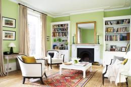Mylands' French Green No 187 marble matt emulsion, £34.66 per 2.5L tin