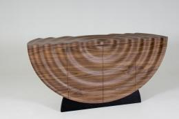 Wave drinks cabinet by Edward Johnson