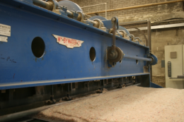 The fibres are compressed and become carpet underlay. www.anglorecycling.com