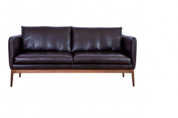 Leather Elgin three seat sofa, made in Italy for the Conran Shop, £4,400 in sale