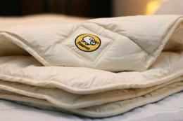 Baavet wool duvets are made in Harlech from British wool. Medium weight duvet £106. www.baavet.co.uk