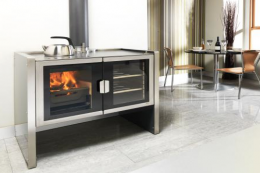 UK made Firebelly Razen will heat your room and cook