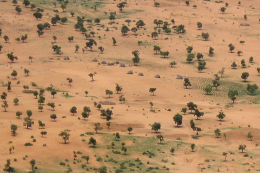 Burkina Faso is a landlocked country that often experiences drought