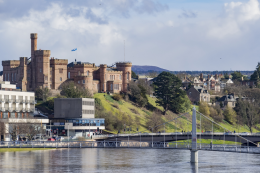 Inverness is a splendid city that straddles the banks of the River Ness