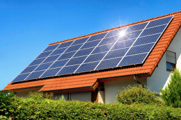 Solar PV panels are a good choice if you care about the environment