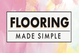 Flooring Made Simple from Modern Rugs..a useful guide