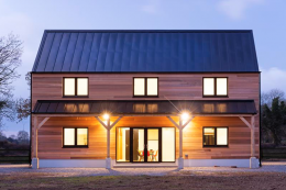 Low energy new build built by Pat Doran Construction, County Kildare