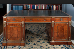 Harewood is home to fine Chippendale writing desks