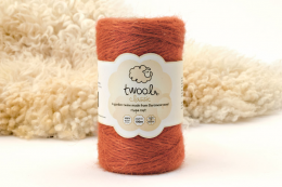 Two is made from wool woven from the fleece of Whiteface Dartmoor sheep. No gardener should be without a spool. Lots of colours, 100m roll £6.50. www.twool.co.uk