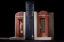 Timothy Richards phone box bookends