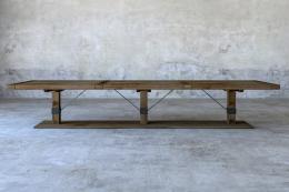 Splendid Roman reclaimed oak table from Rough Living, £1680