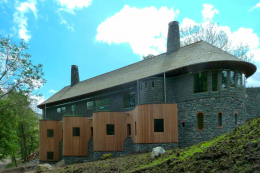 Rigg Beck house in Cumbria by Knox Bhavan architects