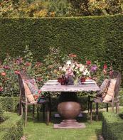 Reconstituted stone Callanish dining table from Oka. Seats 12. £2,600. www.okadirect.com
