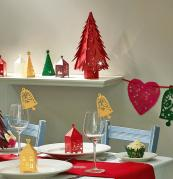 Find fun and jaunty paper lanterns, trees and decorations from just £1.50 at www.hanginglanterns.co.uk
