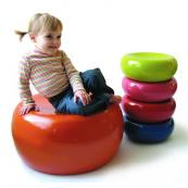 These colourful Mello stools from Coco Male are made from bamboo coated with lacquer, £72, www.cocomale.com