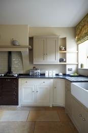 Farrow & Ball's paints are in great demand for traditional kitchens