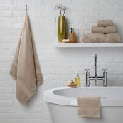 Platinum Hygro Suvin cotton towels with 30 per cent modal, from £5, John Lewis, www.johnlewis.com