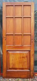 You can find splendid salvaged solid wood doors at yards such as Lassco's
