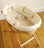 Maize woven Moses basket from Nature's Purest, around £80. www.naturespurest.co.uk