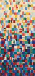 Dancing Squares, with subtle colour gradations