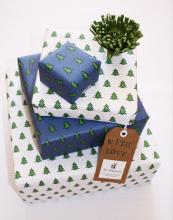 And when it comes to wrapping, choose recycled wrapping paper. Find lovely designs at Re-wrapped, £1.50 a sheet, www.re-wrapped.co.uk