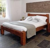 Sweet Dreams reclaimed timber bed frame by Modish Living, from £770, www.modishliving.co.uk
