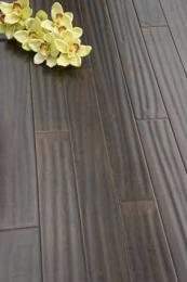Textured black bamboo flooring from The Bamboo Flooring Company