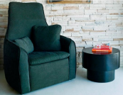 Pacifica wing chair by Los Angeles-based Environment Furniture. www.environmentfurniture.com