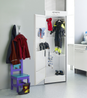 Swedish made ISE drying cabinets cost around £1000 and are an efficient low energy way of drying laundry