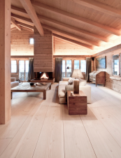 Danish company Dinesen is know for its stunning wide oak planks. POA.