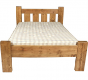 Simple but sturdy..reclaimed timber bed frame by Roy Walker Furniture, from £375