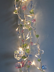 super pretty 8m length of pastel LED fairy lights from www.berryred.co.uk, £37.50
