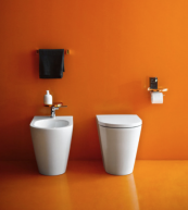Sanitaryware by Laufen, a company which has done a lot of save energy at its factories