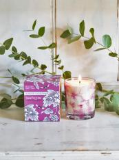 Beefayre scented candles, large £18. Made in the UK from sustainable plant ingredients, 3% of profits go to bee conservation. www.beefayre.com