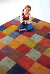 Enduringly popular, Cuadros wool rug by Spain's Nani Marquina. 150x200 rug £1,079 at Wovenground