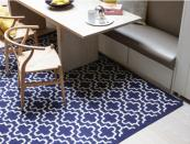 Moorish, new wool flatweave rug from London designer Jennifer Manners, £1,275 180x240cm