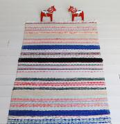 Super eco, vintage Swedish rag rugs from The Northern House add affordable colour and warmth underfoot. From £50. www.thenorthernhouse.co.uk
