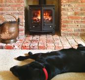 Counrty6 6kW country style fire from Charnwood, from £729, www.charnwood.com